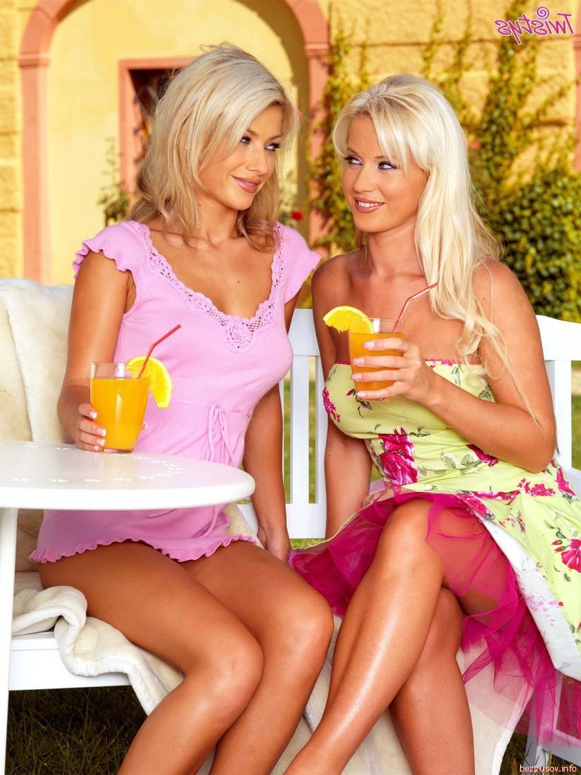 гламурные блондинки лезбиянки порно
