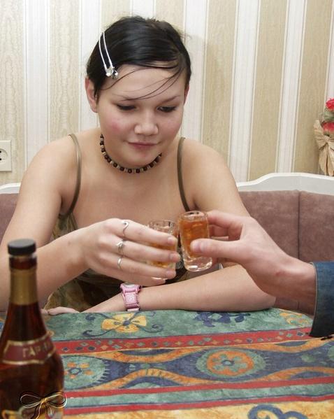 пьяная русская вагина