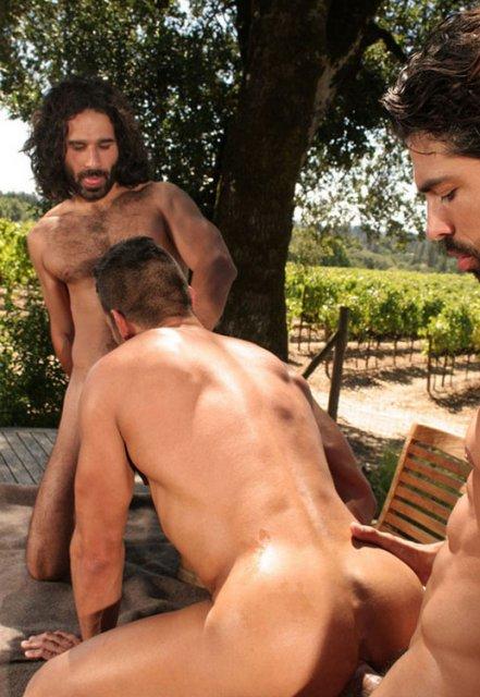 Мускулистые парни занимаються сексом фото 266-329