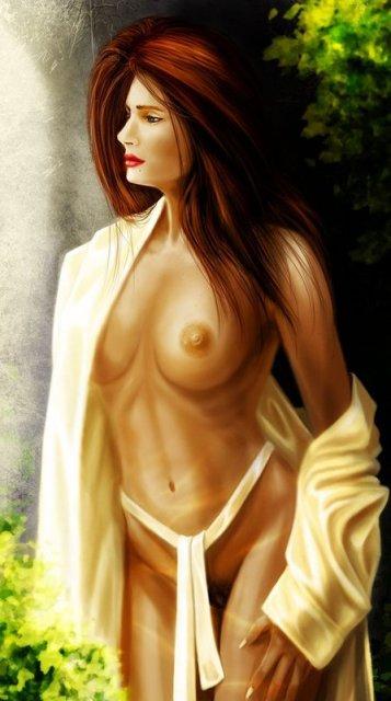 Похотливые голые красавицы из известных мультиков
