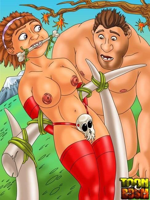 порно комикс семейка крудс