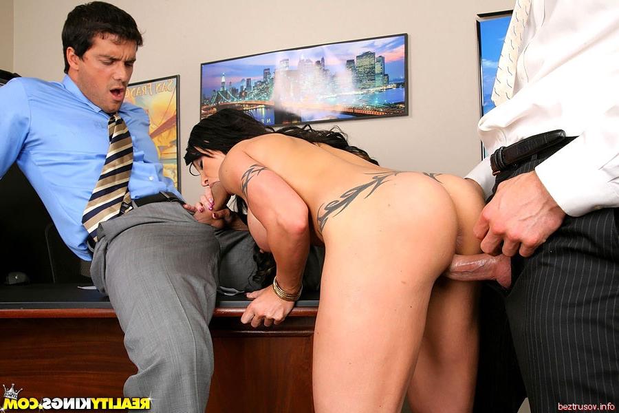 Жесткое порно начальник и секретарша