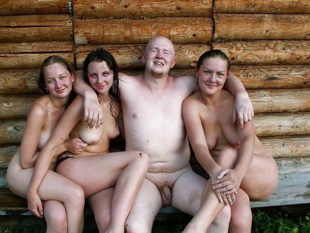 Секс в деревне с прекрасной нимфоманкой с большими сисями