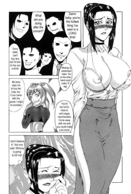 Грудастый транс в футанари ебёт строптивую школьницу